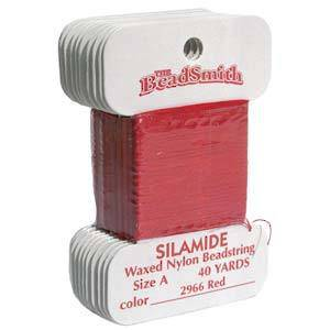 Silamide,  40 yard card - Red