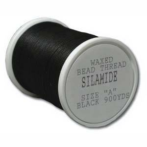 Silamide: 900 yard spool - Black