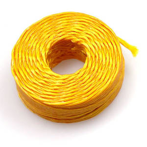 1mm Cotton 'Sinew' Cord - Canary Yellow