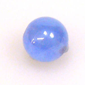 Semi Precious, Laquered Jade Ball, blue, 8mm