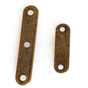 Spacer Bar, plain, brass