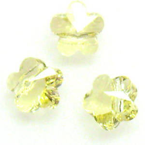Swarovski Crystal 5mm Flower, Jonquil
