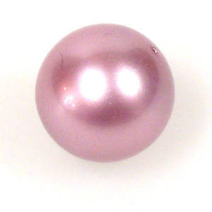 6mm Round Swarovski Pearl, Powder Rose