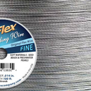 Fine Softflex: Silver - 30 foot  (9m) spool