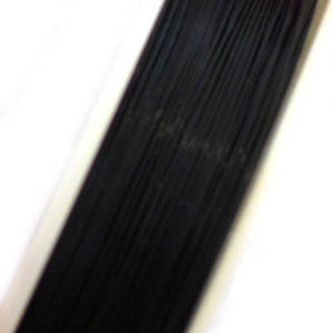 Tigertail Beading Wire, Black