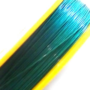 Tigertail Beading Wire, Emerald (A grade)
