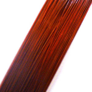 Tigertail Beading Wire, Red