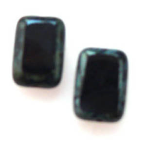 Window Bead, 8mm x 12mm - Jet