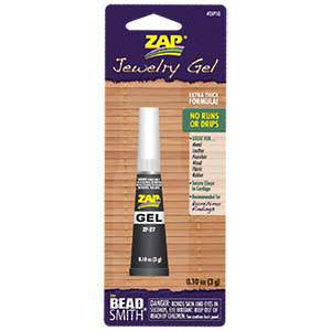 NEW! Zap Jewellery Gel (3gm tube)