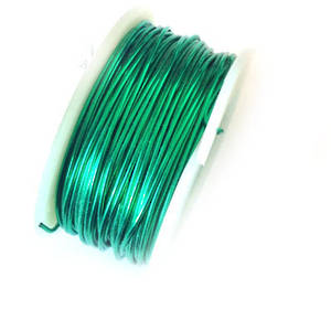 CLEARANCE: Artistic Wire, Christmas Green, 22 gauge