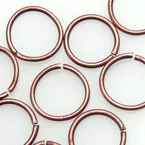 8mm Jumpring: Copper
