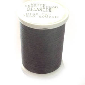 Silamide,  900 yard spool - Ash Grey