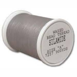 Silamide,  900 yard spool - Light Grey