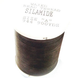 Silamide,  900 yard spool - Medium Grey