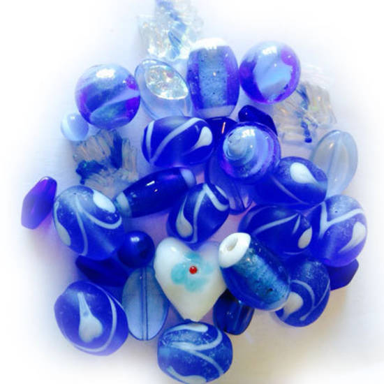 LAMPWORK MIX 2: Blues
