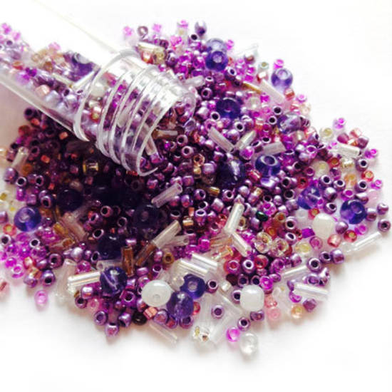 NEW! Czech/Chinese Seed Bead Mix: LILAC