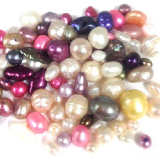 NEW! FRESHWATER PEARL MIX: Pink through Cream