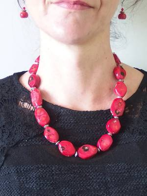 KITSET: Coral Necklace