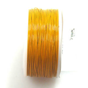 CLEARANCE: Artistic Wire, Yellow, 28 gauge