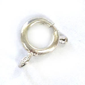 Spring Ring Clasp, big - brighter silver
