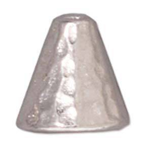 Silver Cone, hammered