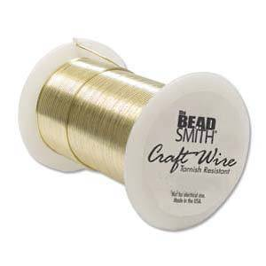 Craft Wire, Gold Colour, 28 gauge