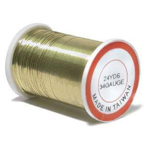 Craft Wire, Gold Colour, 34 gauge