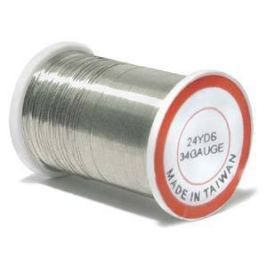 Craft Wire, Silver Colour, 34 gauge