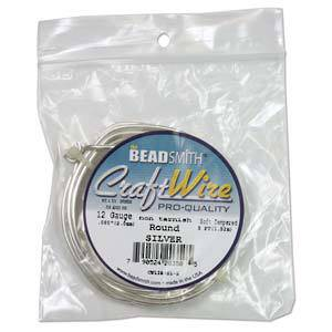 Craft Wire, Silver Colour, 14 gauge