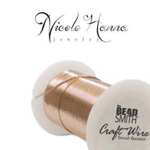 Wire Pack for Nicole Hanna Project: Craft Wire Copper