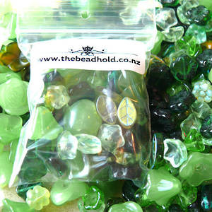 NEW! Leaf and Flower MIX - Greens