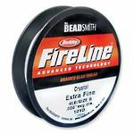 6lb Fireline, 50 yard spool: CRYSTAL CLEAR
