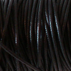 1mm round Japanese Filament Cord, Black