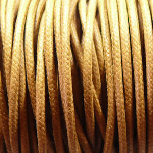 1mm round Japanese Filament Cord, Tan