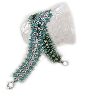 KITSET: Galadriel Bracelet, Turquoise and Silver