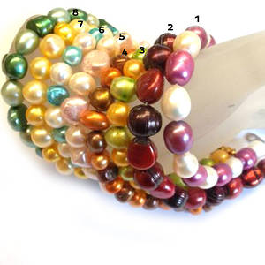 Pearl Bracelet Kit - choose your colour