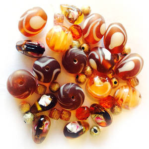 LAMPWORK MIX 1: Autumn