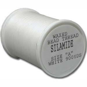 Silamide,  900 yard spool - White