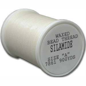 Silamide,  900 yard spool - Natural