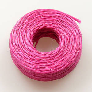 1mm Cotton Sinew Hot Pink