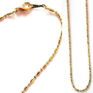Pendant sink chain - gold