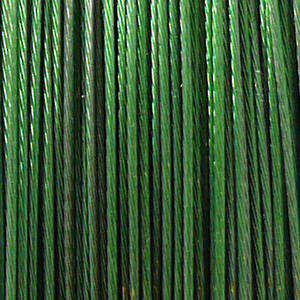 Tigertail Beading Wire, Grass Green