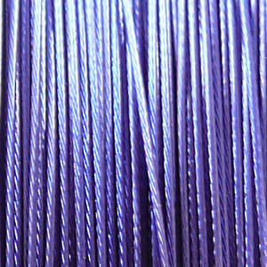 Tigertail Beading Wire, Purpley/Blue