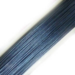 Tigertail Beading Wire, Light Denim