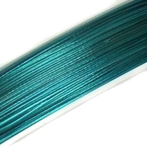 NEW! Tigertail Beading Wire, Indicolite