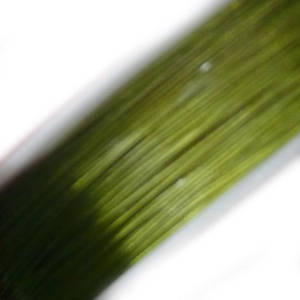 Tigertail Beading Wire, Lime Green