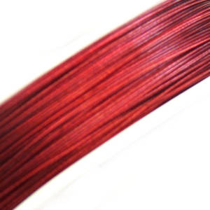 NEW! Tigertail Beading Wire, Ruby Red