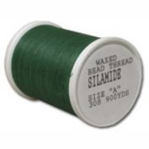Silamide,  900 yard spool - Kelly Green