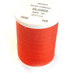 Silamide, 900 yard spool - Orange